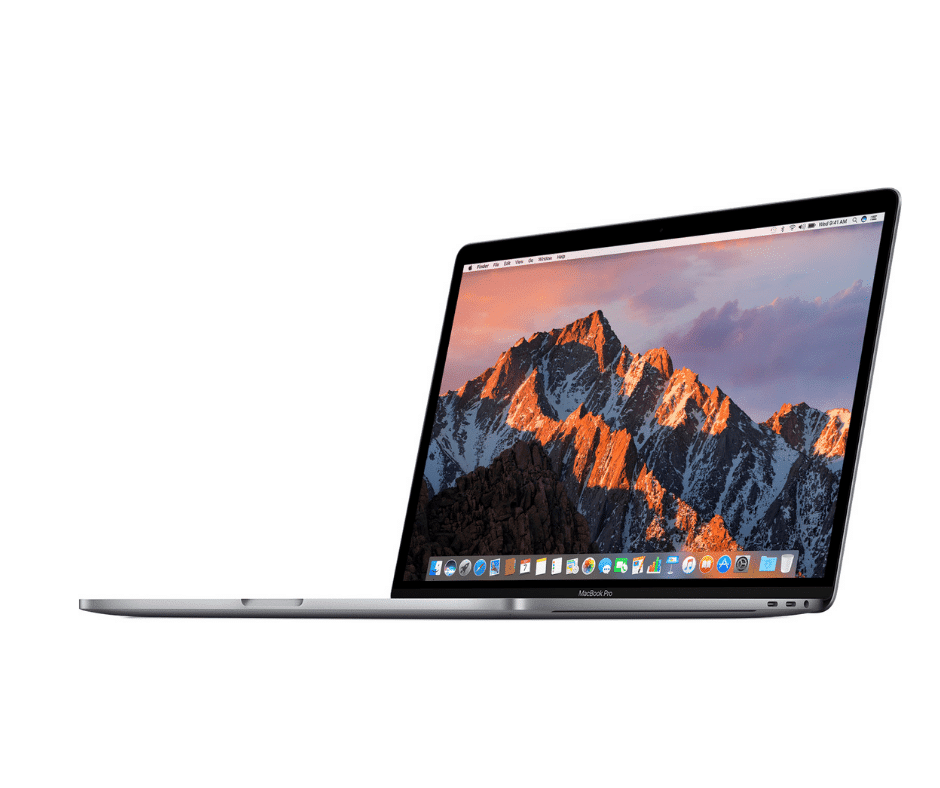 Refurbished Apple MacBook Pro side