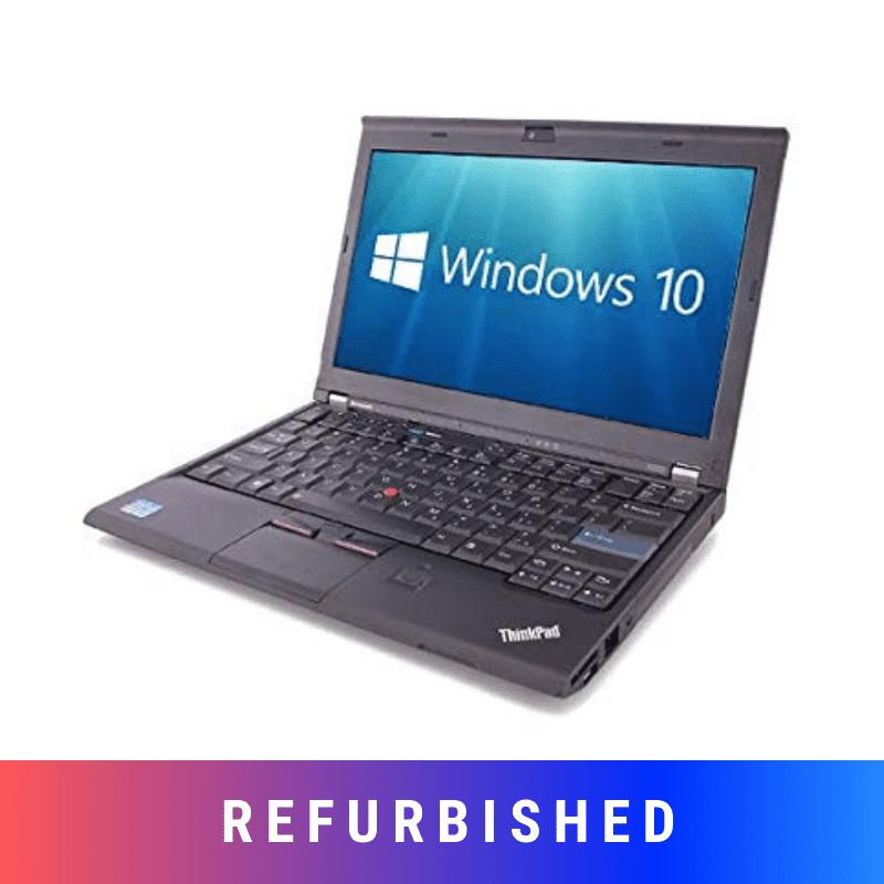 Refurbished Lenovo ThinkPad X220 Laptop With 4GB RAM upto 500GB HD