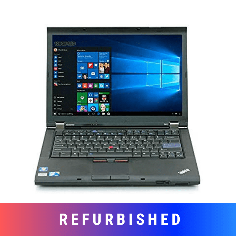 Refurbished Lenovo Thinkpad T410 Laptop With 4 GB Ram Upto 500 GB HDD