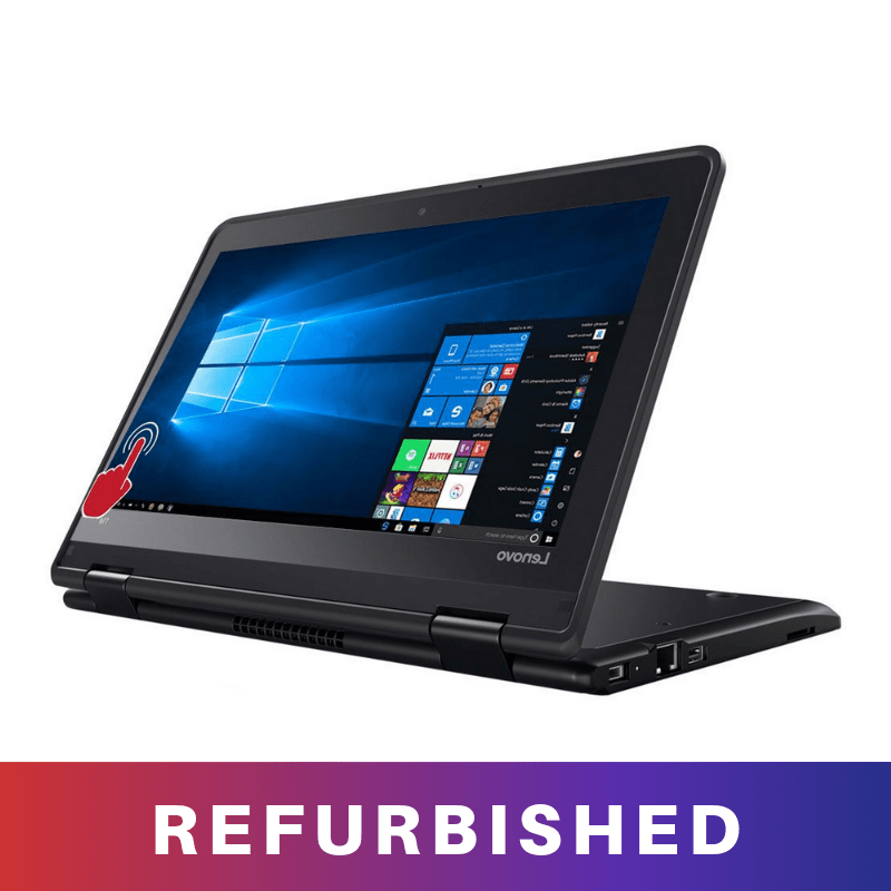 refurbished lenovo 11e celeron with 4GB 500gb HDD